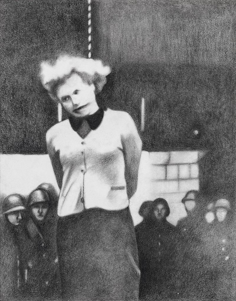 Hanging of the Russian Partisan Masha Bruskina