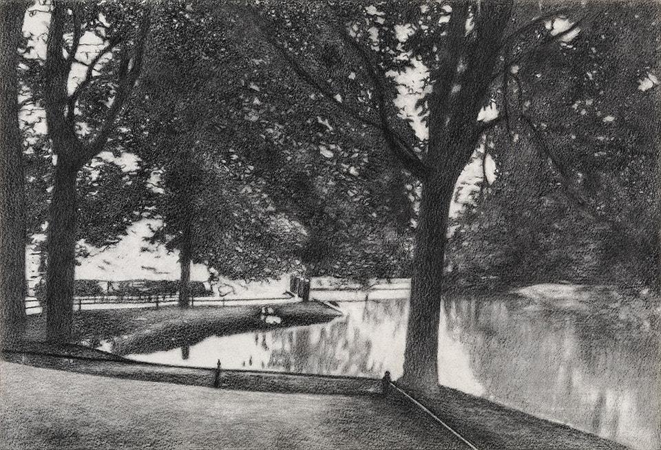 The Goldfish Pond at Tiergarten