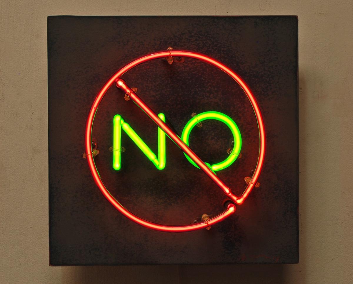 No no Sign