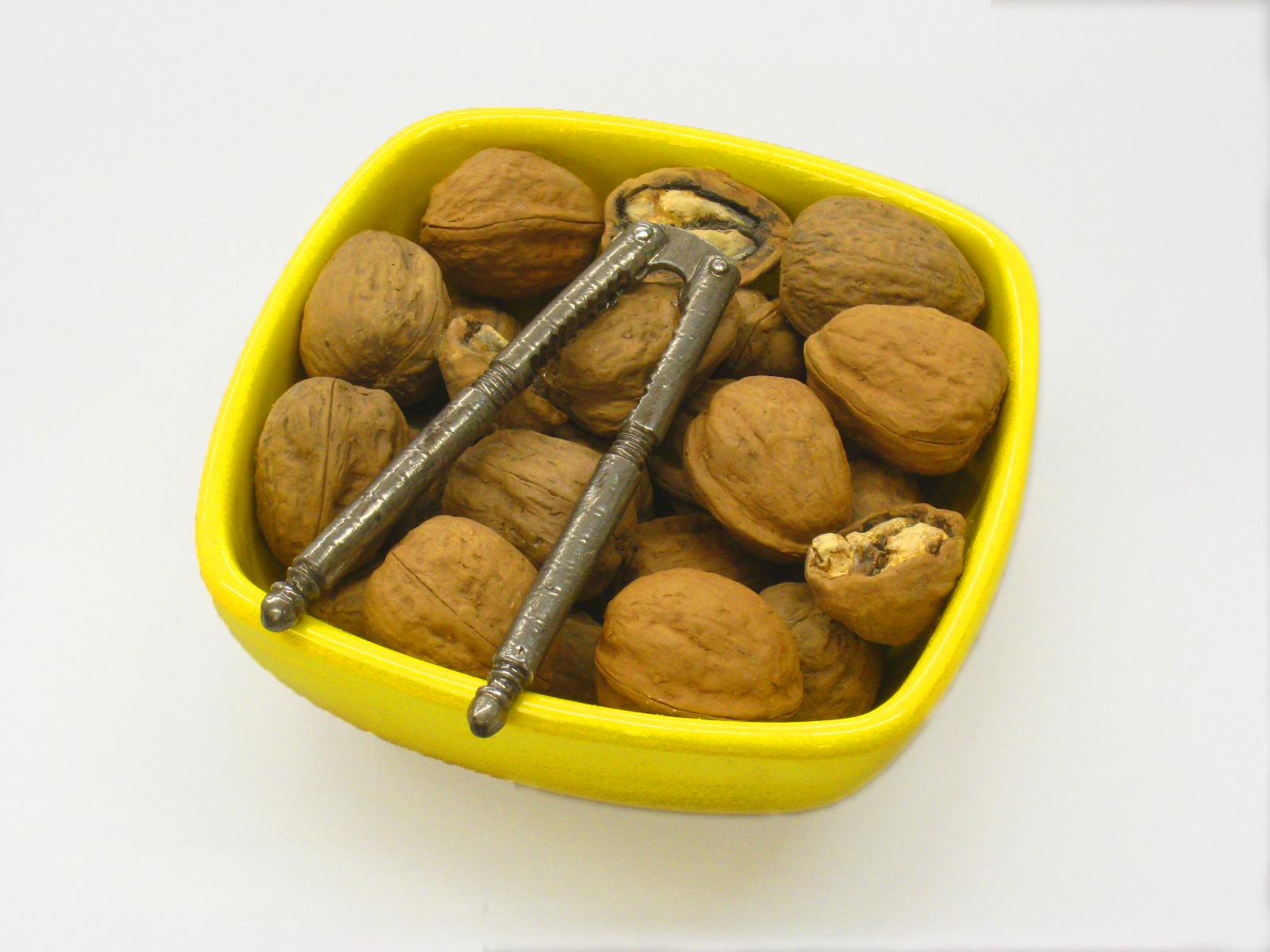 Yellow Walnut Bowl