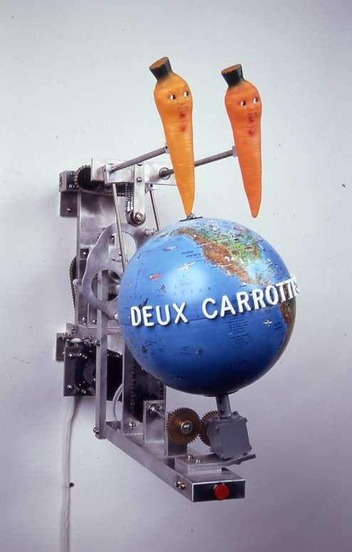 Deux Carottes Heureures (Two Happy Carrots)