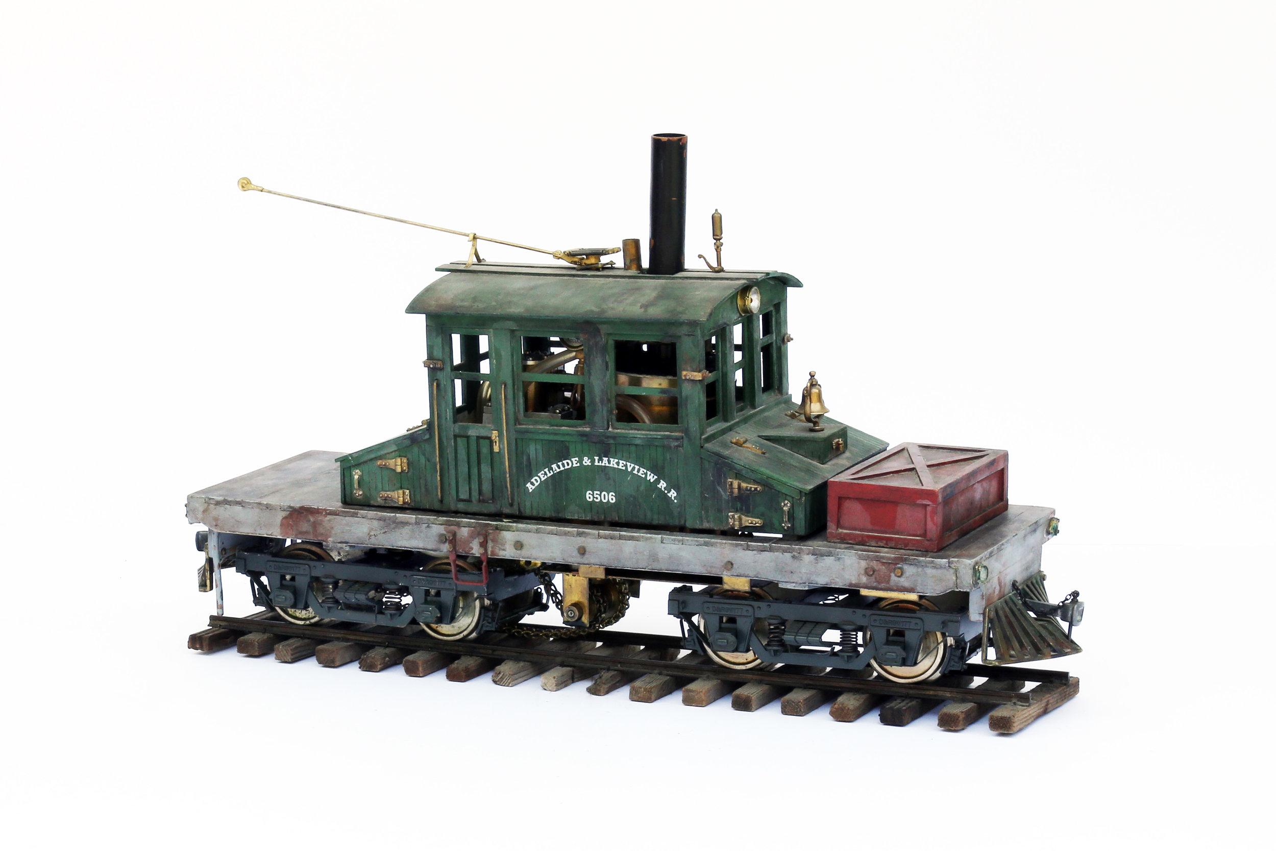 Steeple Cab Locomotive