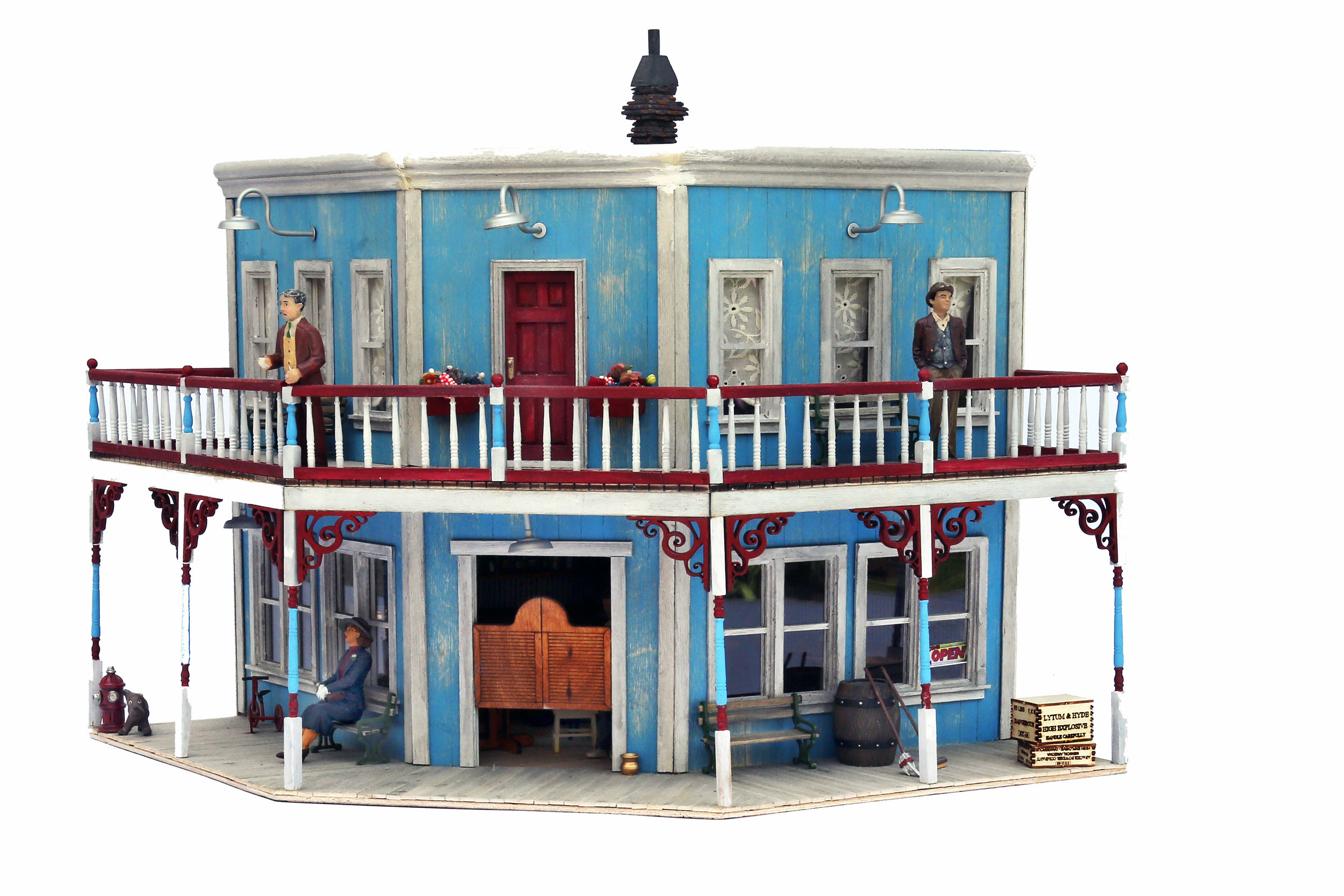 Blue Saloon