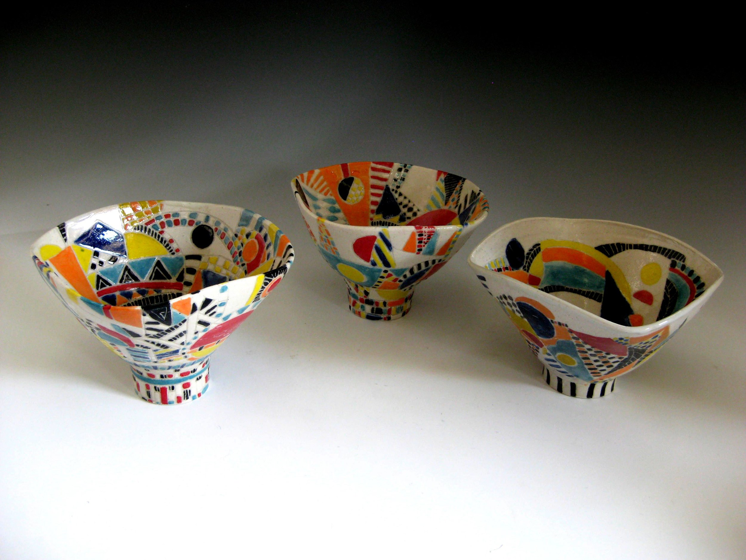 Homage to Lucie Rie, Bowls