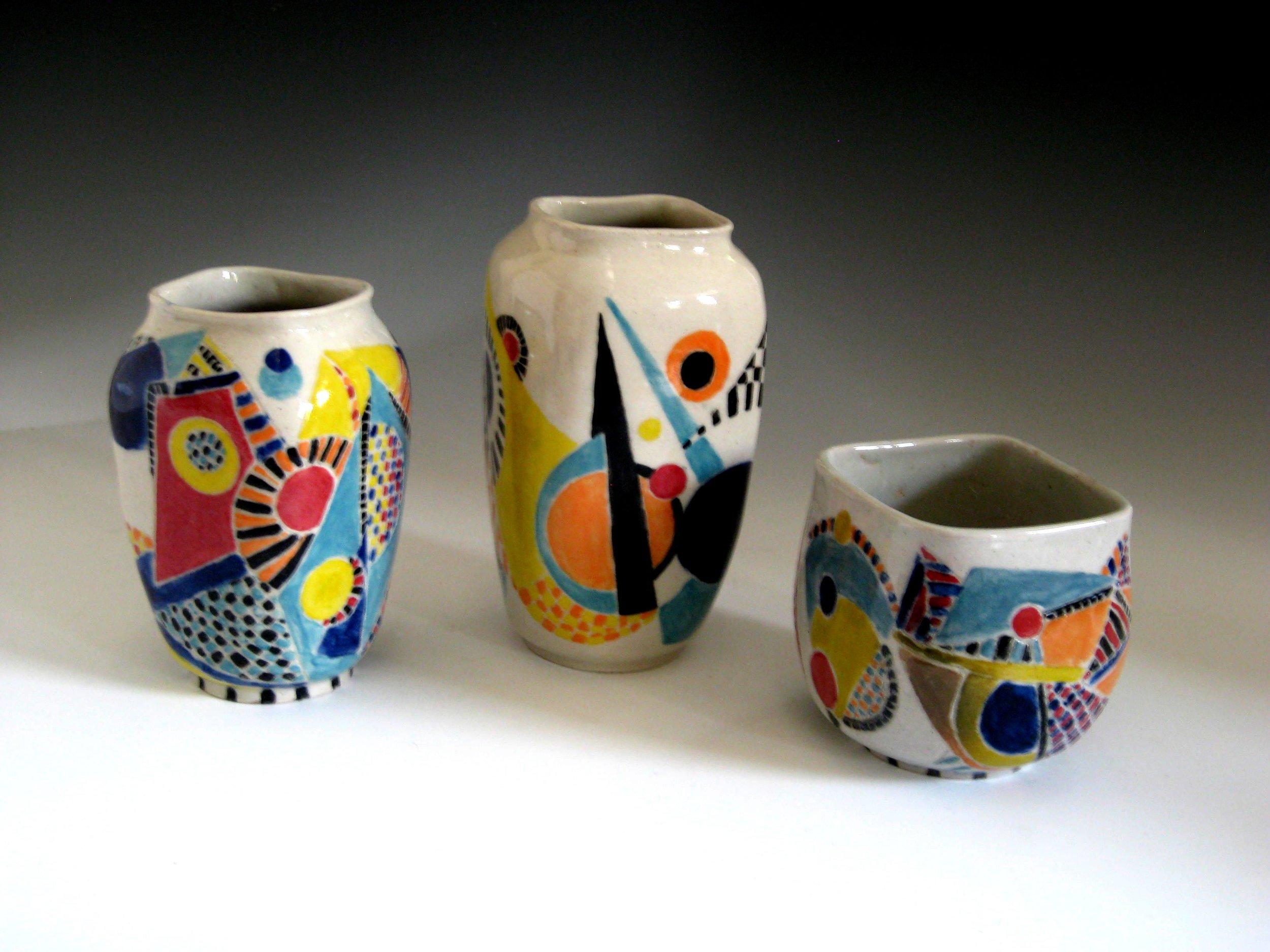 Bigger Vase, Smaller Vase, Orchid Pot