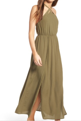 Nordstrom green dress.PNG