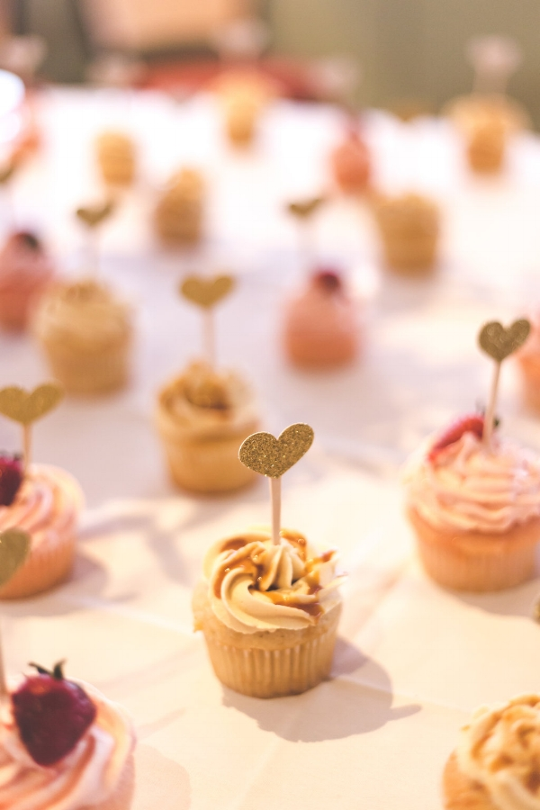 Cupcakes donated by  The Little Cake and Dessert Shop