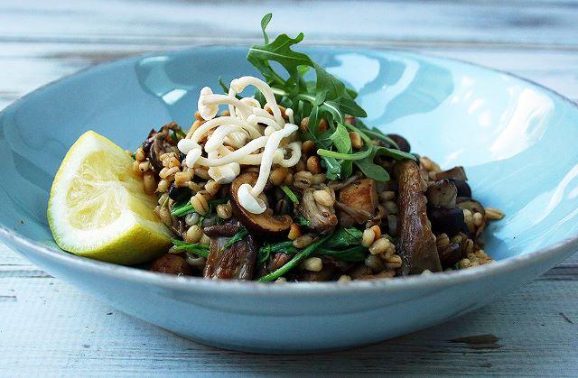 Mushroom Barley 'Risotto'