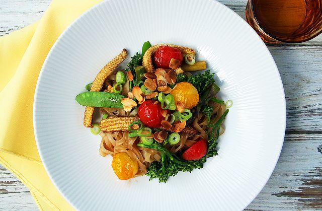vegetable rice stir fry