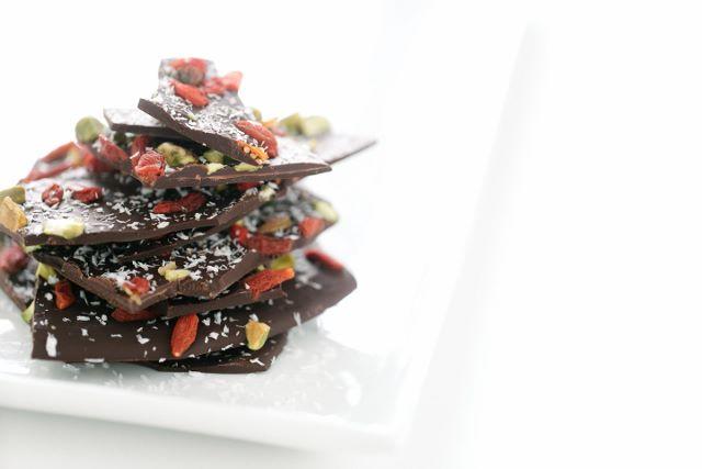 Crisp Chocolate Slab