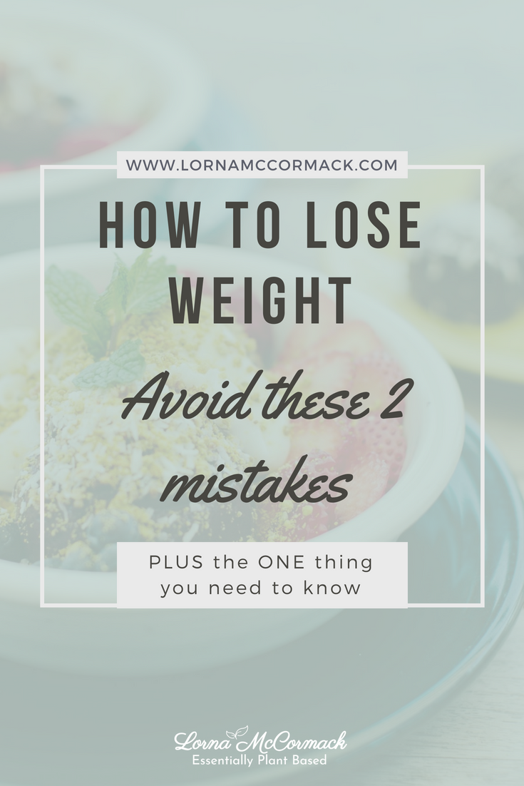 Pin Blog how to lose weight, avoid these 2 mistake & the one thing you need to know.png
