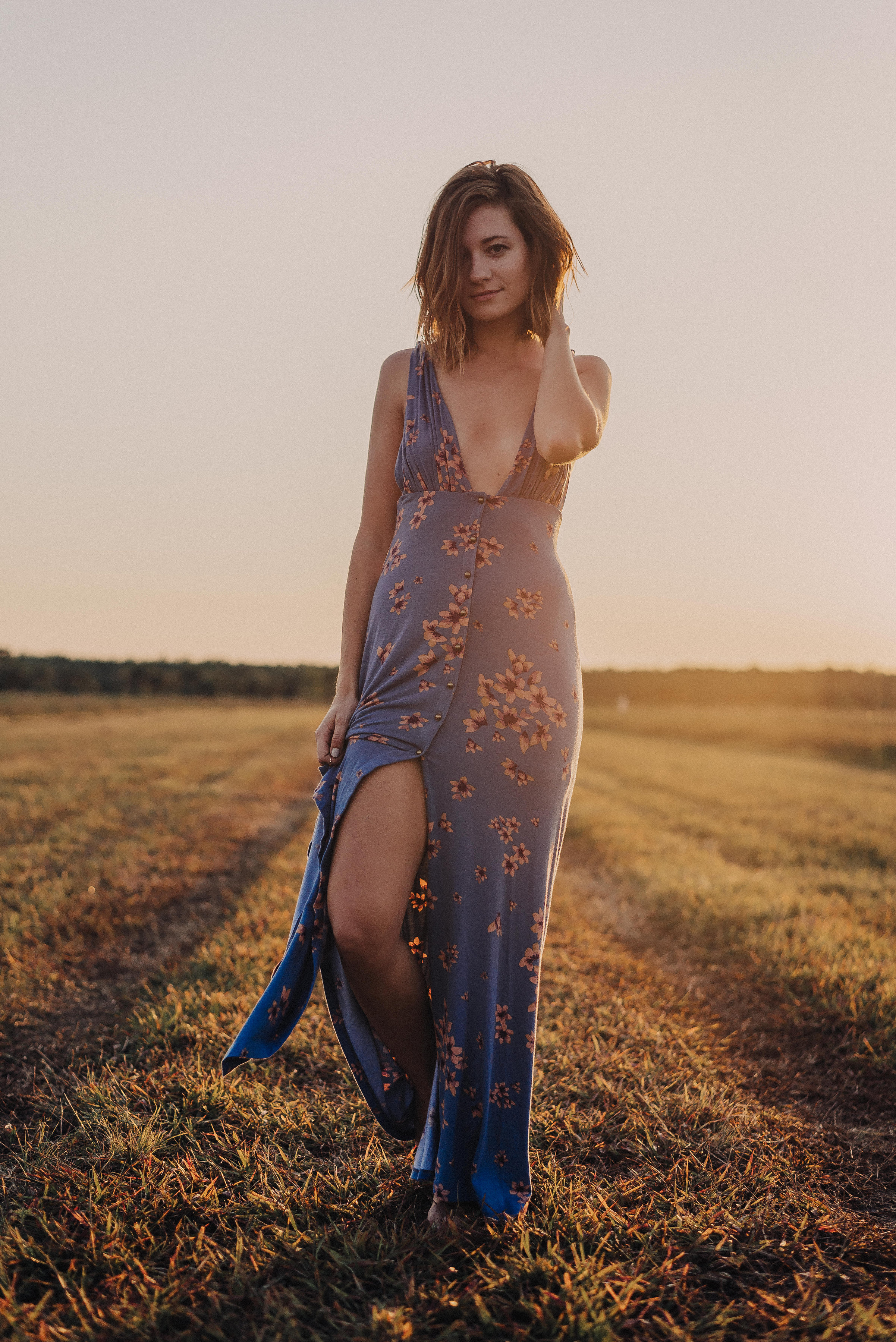 Free People   Other Days Maxi   Katelyn Now   Golden Hour Photo Shoot