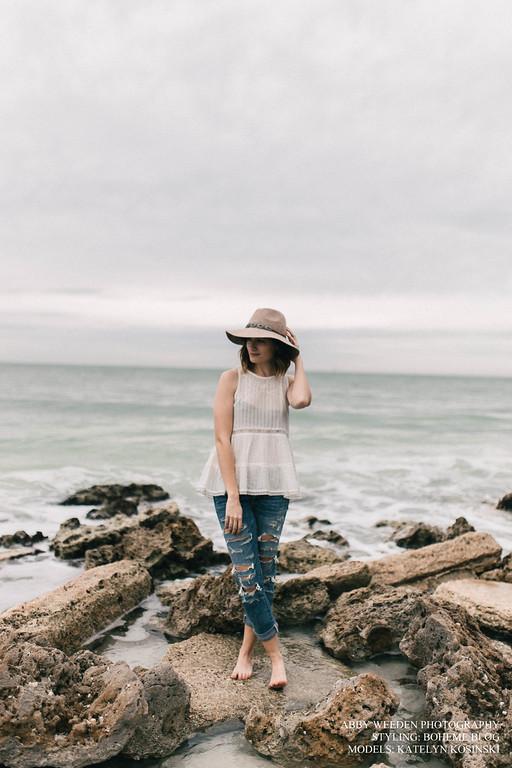 American Eagle | Katelyn Now | Beach Photos
