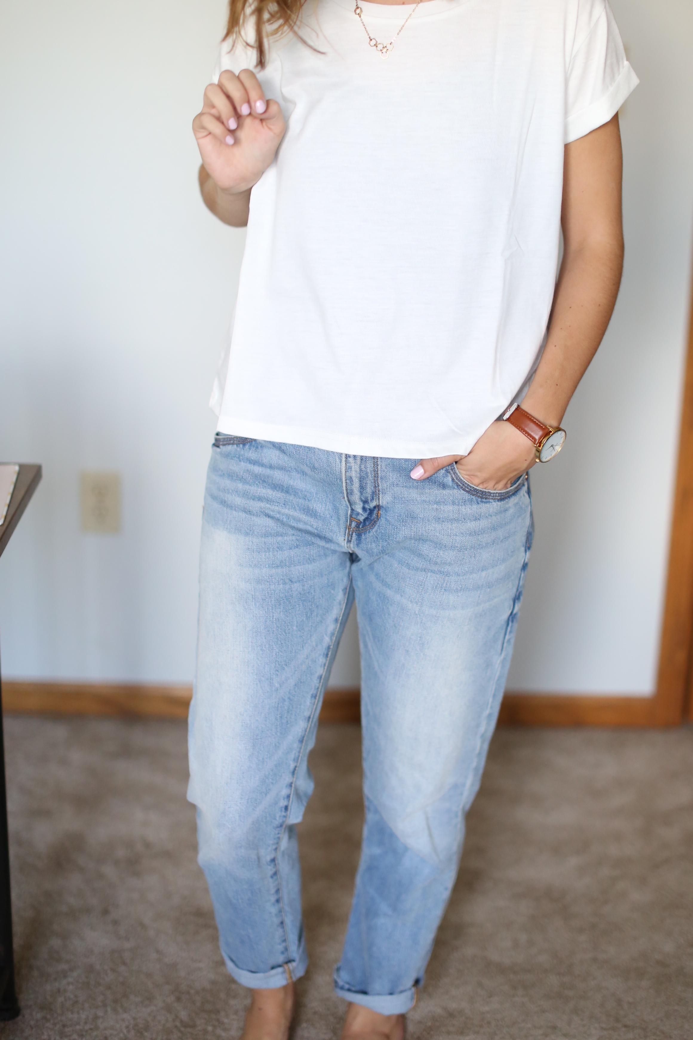 Boyfriend Jeans | Distressed Jeans | Skinny Jeans | Katelyn Now