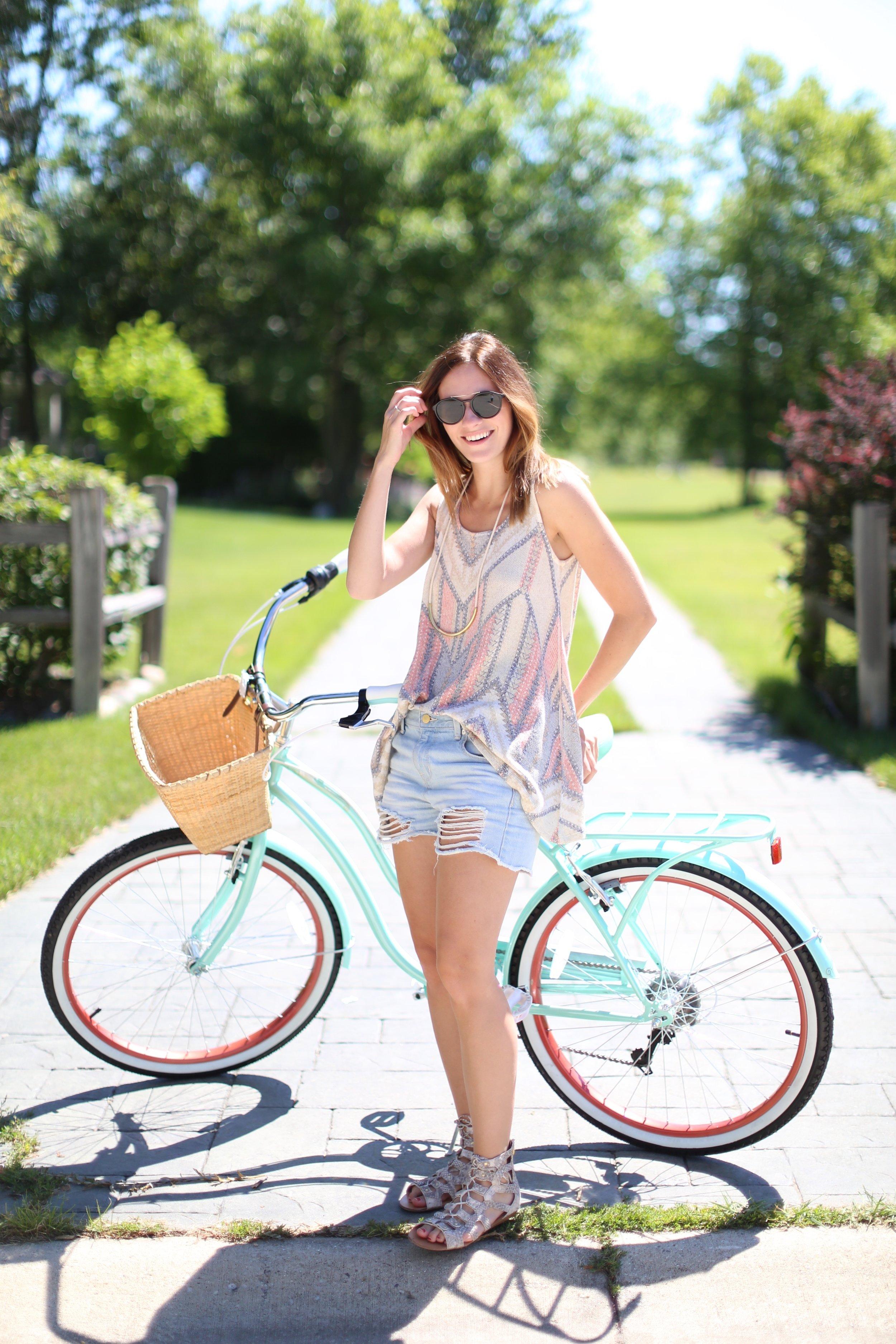 Retro Bike | Summer Style | Katelyn Now