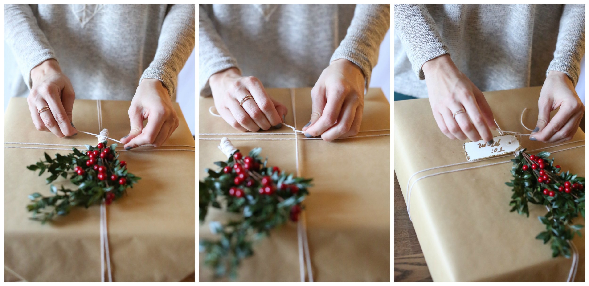 Christmas Wrapping Tutorial | Katelyn Now