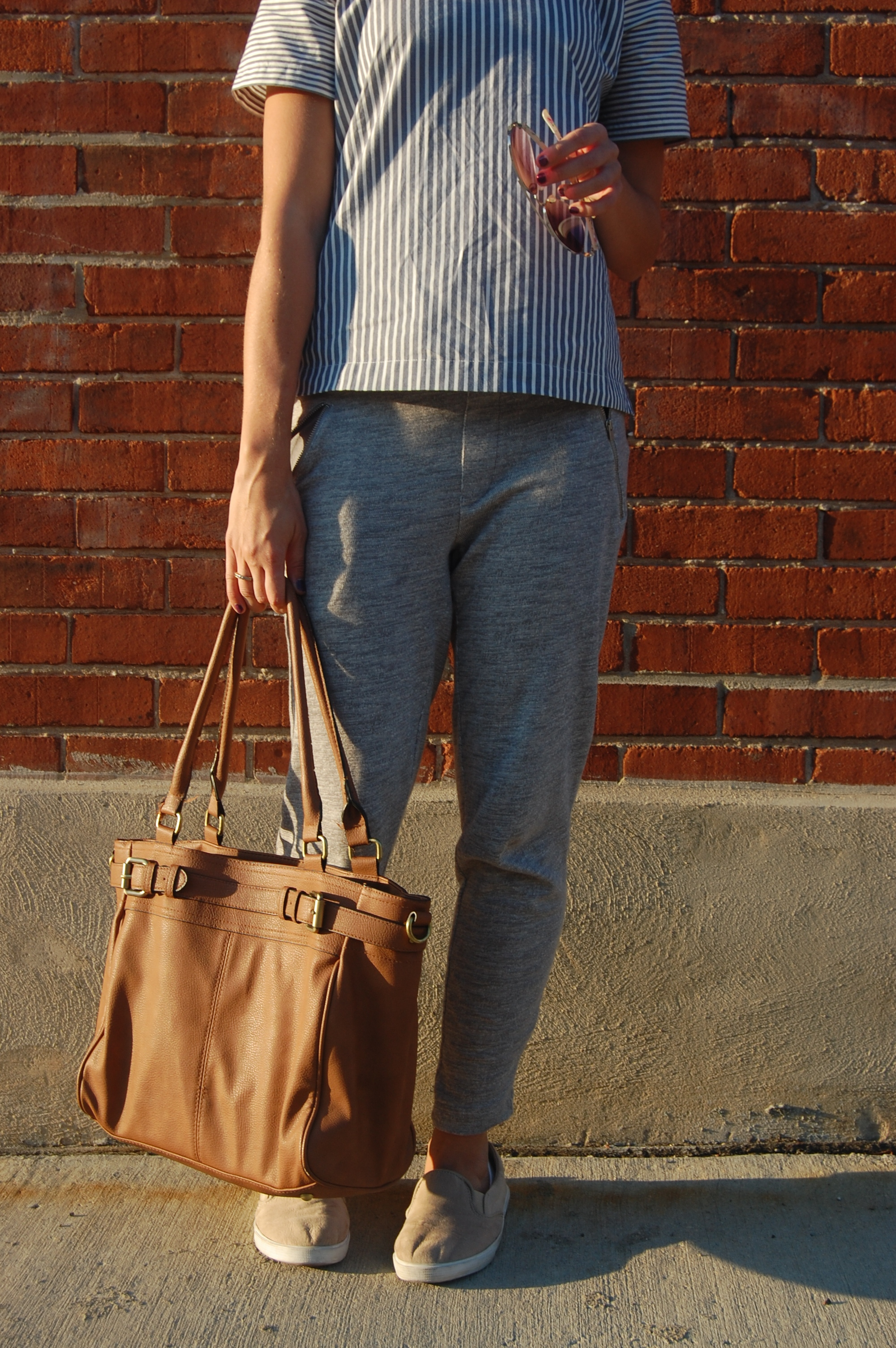 Madewell Stripes + Cozy Pants