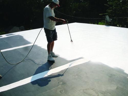 Single Ply Membrane Restoration -