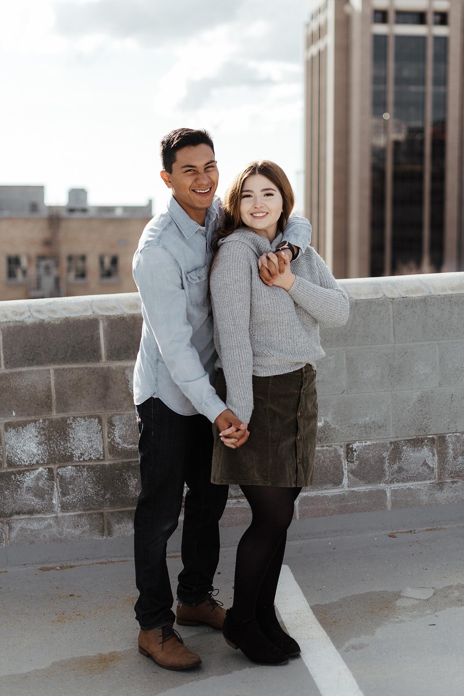 Zandra Barriga Photo - Diane and Junior Downtown Engagements_0005.jpg