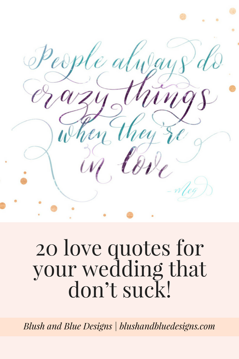 Love quotes for wedding signage, Disney movie quotes