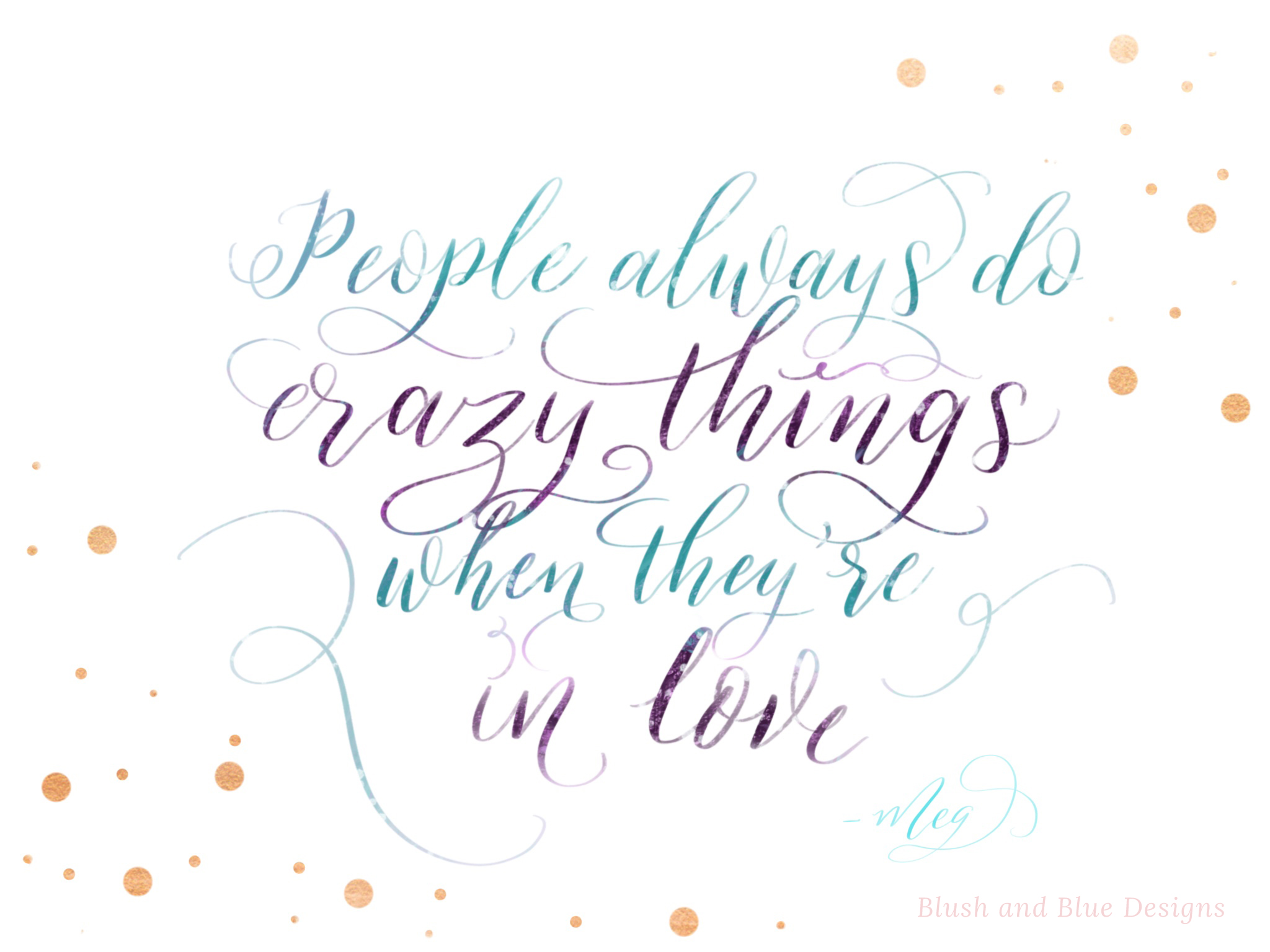 Meg, Hercules quote. Disney quote hand lettering, free download.