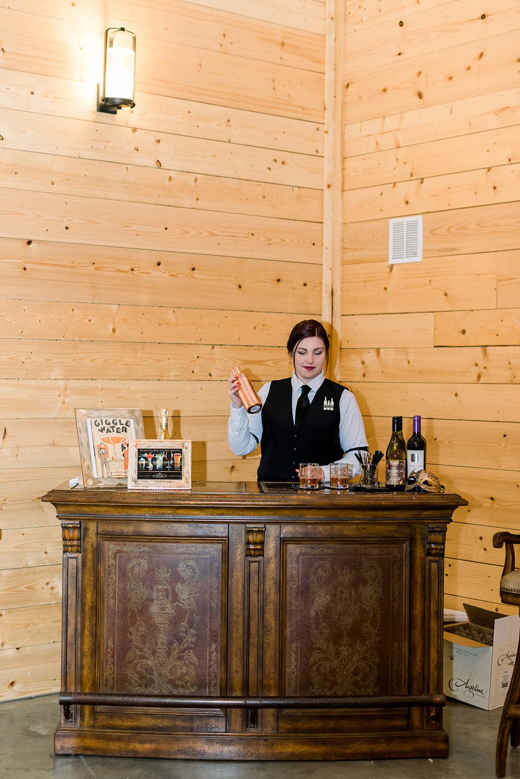 Bar services by POUR Bar