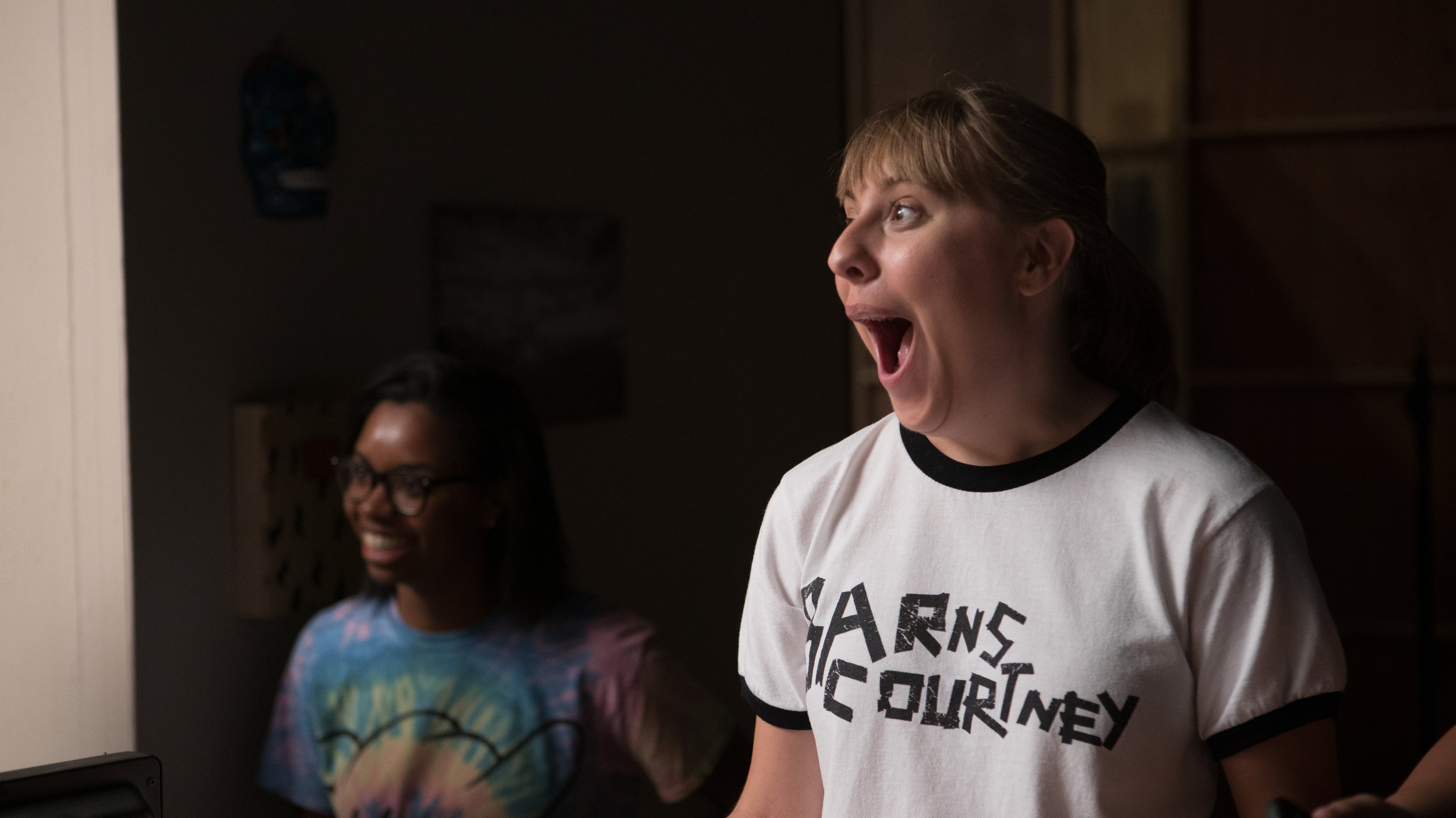 The Most Excited Script Supervisor Ever.