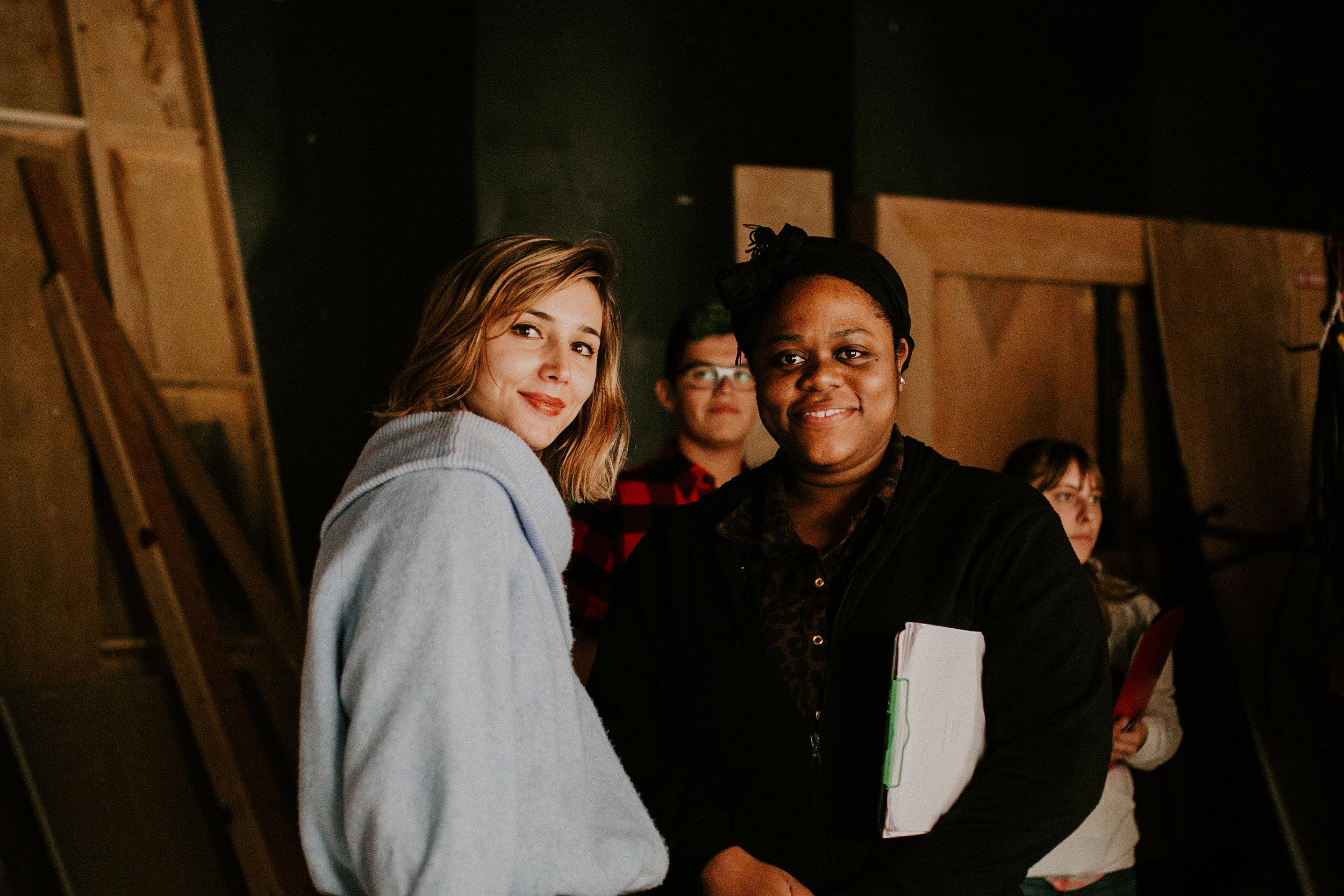 Costume designer Tamara Popovic and Director Krystal Dawkins