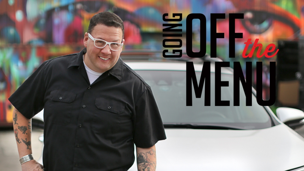 Bravotv.com's digital series  Going Off the Menu  takes viewers on an exclusive culinary adventure as host Graham Elliot uncovers the most delicious offerings within Los Angeles' underground food scene. From a secret supper club serving smuggled cheeses to an eight-course liquid dinner, join Lance Bass, Cheryl Burke, Reza Farahan, Alex Thomopoulos and more as they give fans the secrets to unlock these extraordinary food experiences.