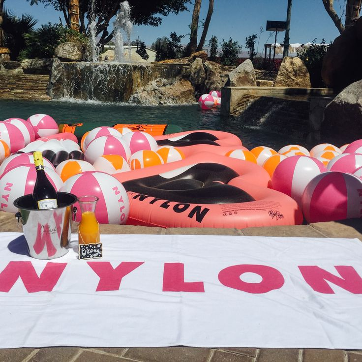 NYLON House at Coachella sponsored by Hugo Boss