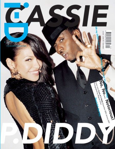 Diddy and Cassie shot by Magnus Unnar for i-D Magazine