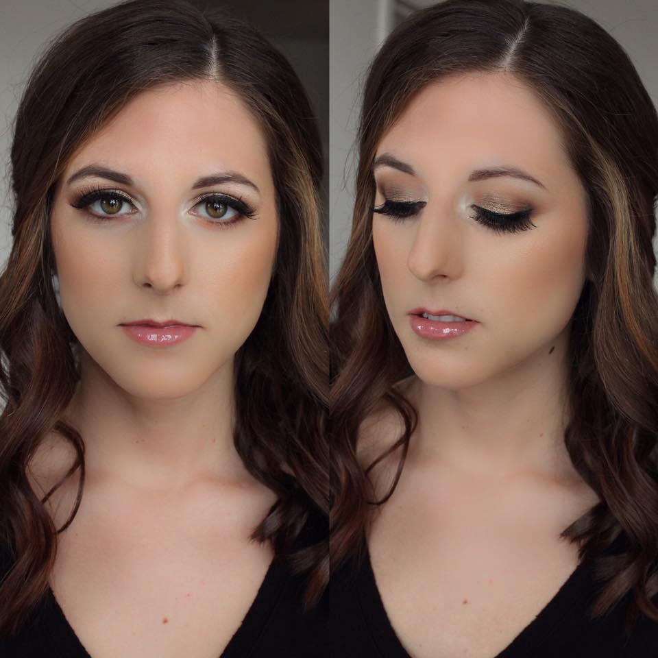 Make-up + Photo: Hannah Elisabeth Beauty | Bride-to-be: Amanda D.