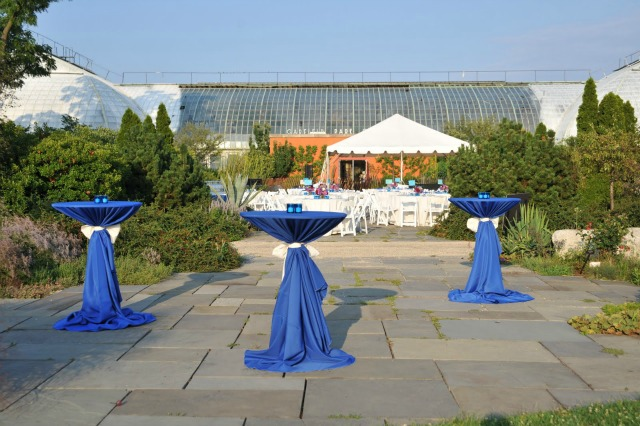 1 Garfield Park Conservatory Wedding Sweetchic Peter Coombs highboys