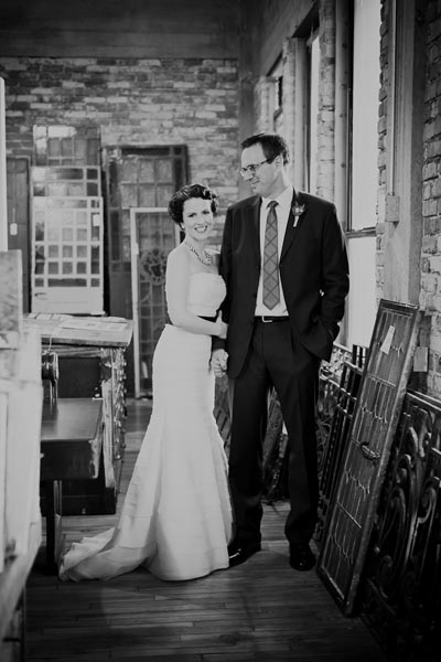 11 Architectual Artifacts Wedding Pen Carlson Photography Sweetchic Events Bride and Groom first look