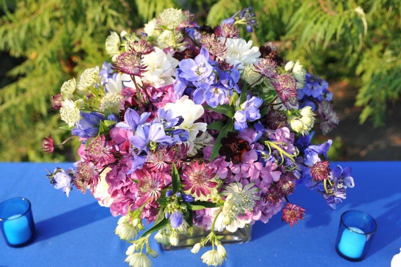 11 Garfield Park Conservatory Wedding Sweetchic Peter Coombs Asrai Garden floral arrangement