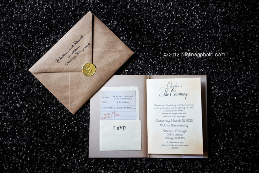12 Kitchen Chicago Wedding Cristina G Photography Sweetchic Events Invitations