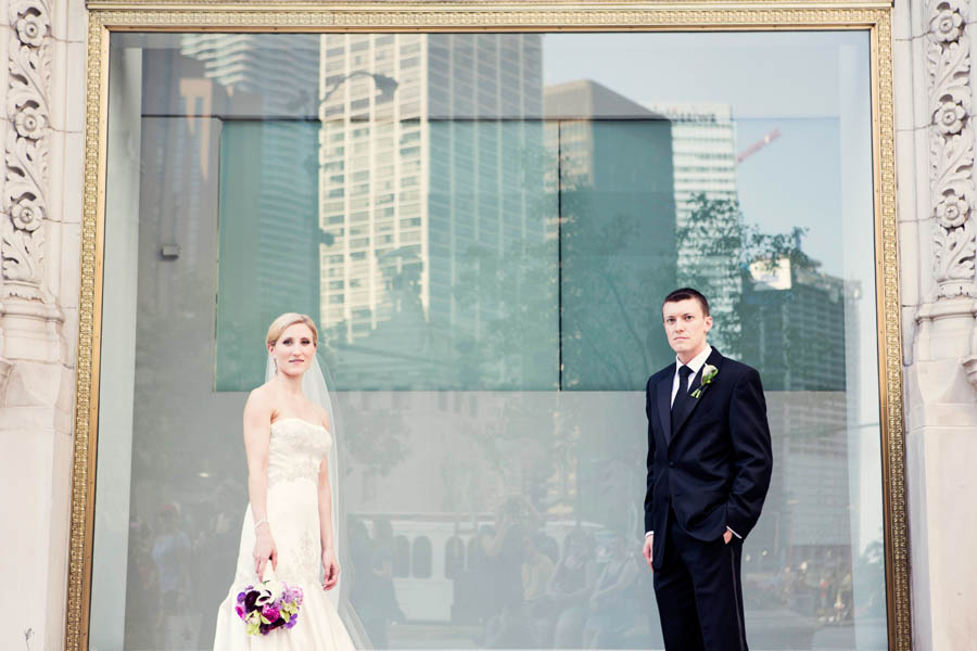 20. Alicia & Kris. Newberry Library Wedding. iLuvPhoto. Sweetchic Events.