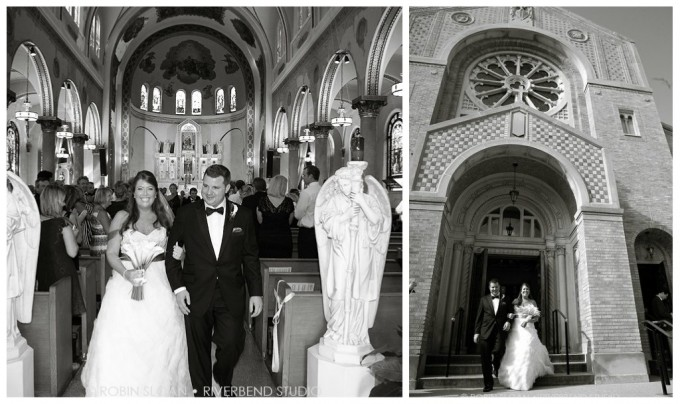 9.10 Jen. Aaron. Our lady of pompeii trump towers wedding Sweetchic Events Riverbend Studio