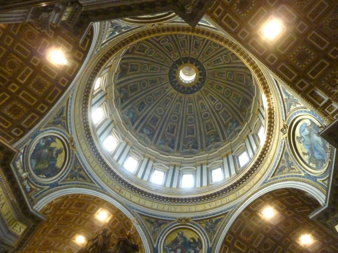 15 St. Peters Basilica dome