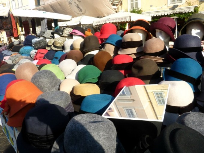 19 Rome market hats