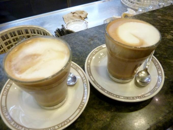 26 Rome cappuccino Tazzo de oro