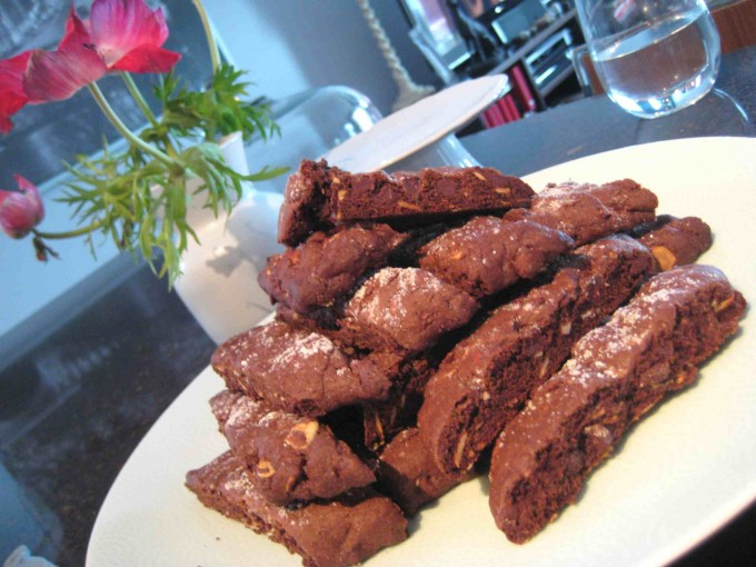 Sweetchic Events holiday party homemade chocolate biscotti