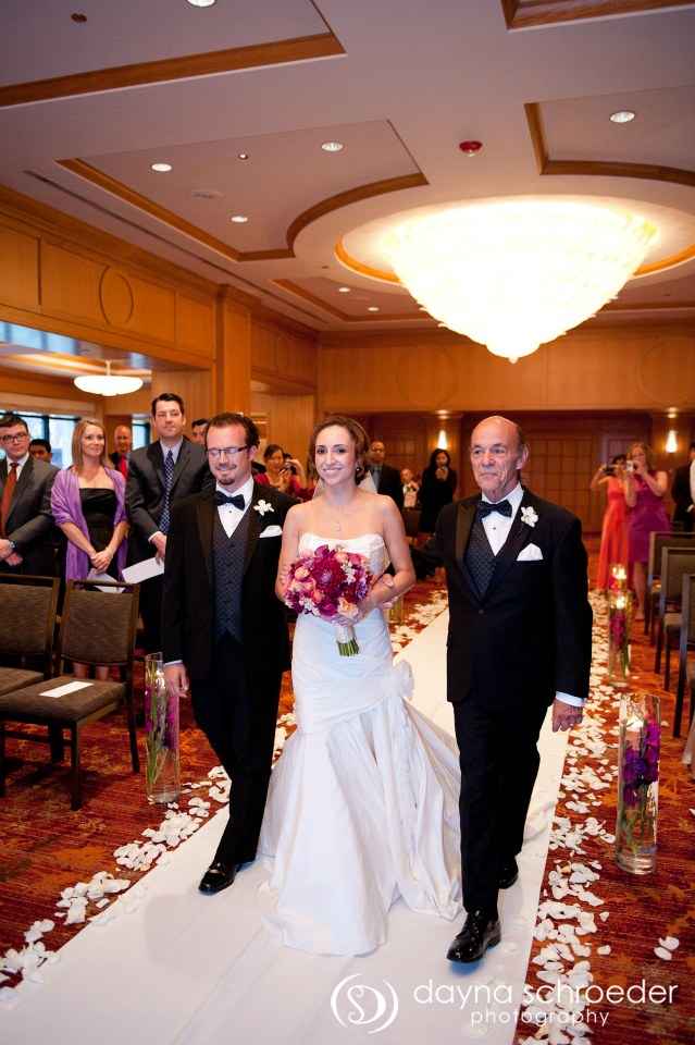 22 Westin River North chicago wedding sweetchic events dayna schroeder down the aisle