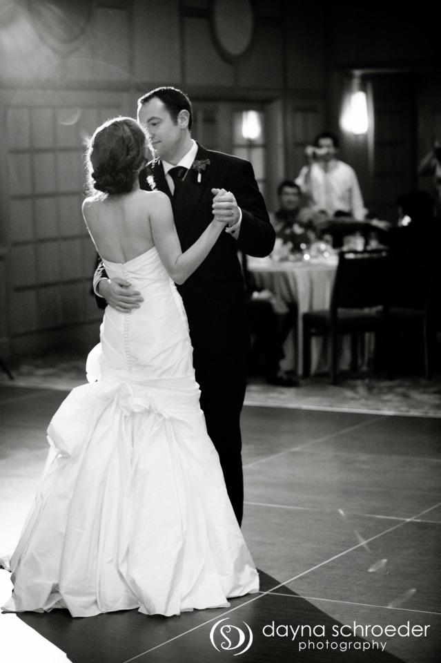 41 Westin River North chicago wedding sweetchic events dayna schroeder first dance