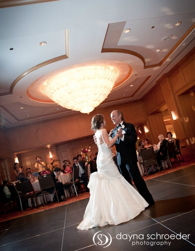 42 Westin River North chicago wedding sweetchic events dayna schroeder father daughter dance