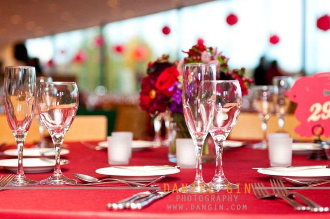11 Morton Arboretum wedding Dan Gin photography Sweetchic Events table setting gingko room