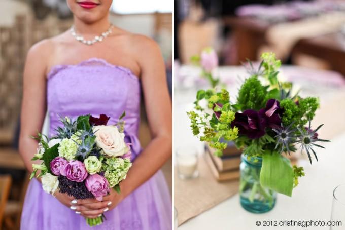 20 Kitchen Chicago Wedding Cristina G Photgraphy Sweetchic Events Bridesmaids Bouquet, Reception Decor