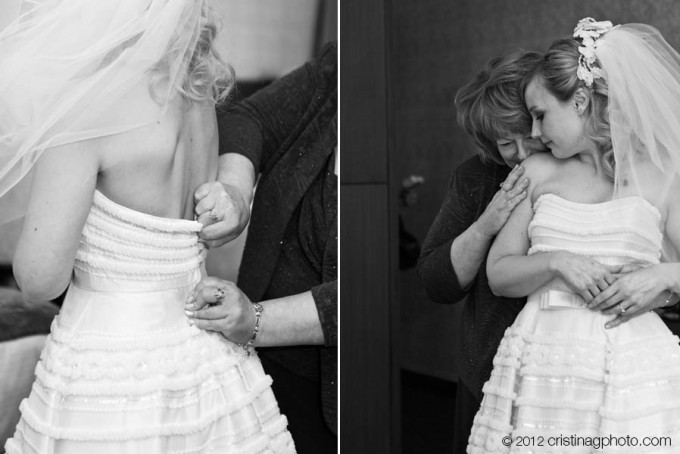 3 Kitchen Chicago Wedding Cristina G Photography Sweetchic Events Mom and Daughter