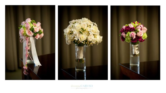 14. Sarah & Rajan. Westin Itasca Wedding. Deonna Caruso Photography. Sweetchic Events.Kim Oldis. White, Pink. Purple Rose Bouquets.