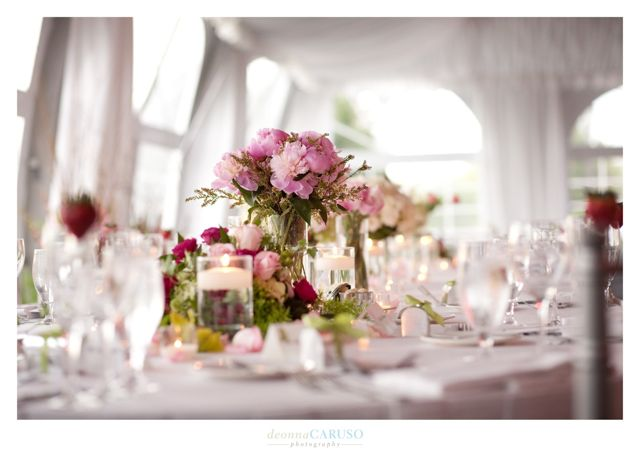 29. Sarah & Rajan. Westin Itasca Wedding. Deonna Caruso Photography. Sweetchic Events. Kim Oldis. Pink Poeny Centerpiece